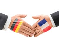 Germany and France reach out their hands